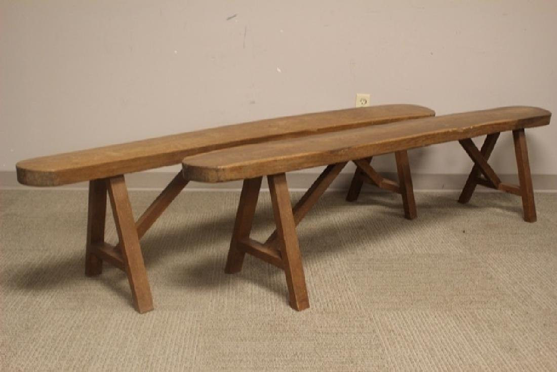 Late 18th Early 19th Century Country Benches - 2
