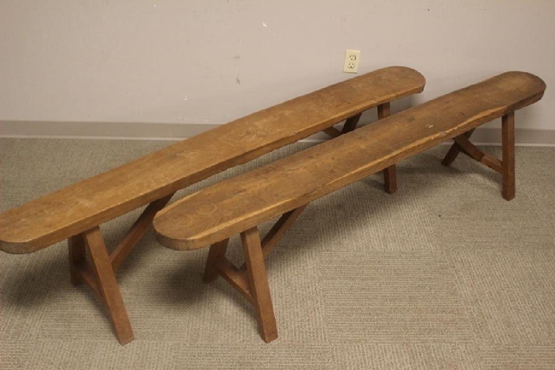 Late 18th Early 19th Century Country Benches - 3