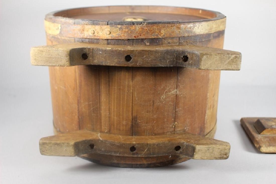 19th Century Primitive Barrel - 8