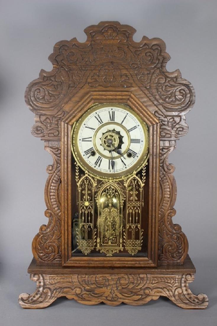 Two Cottage Kitchen Clocks - 2