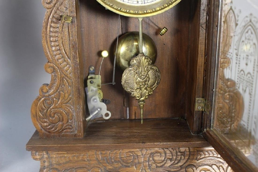 Two Cottage Kitchen Clocks - 3