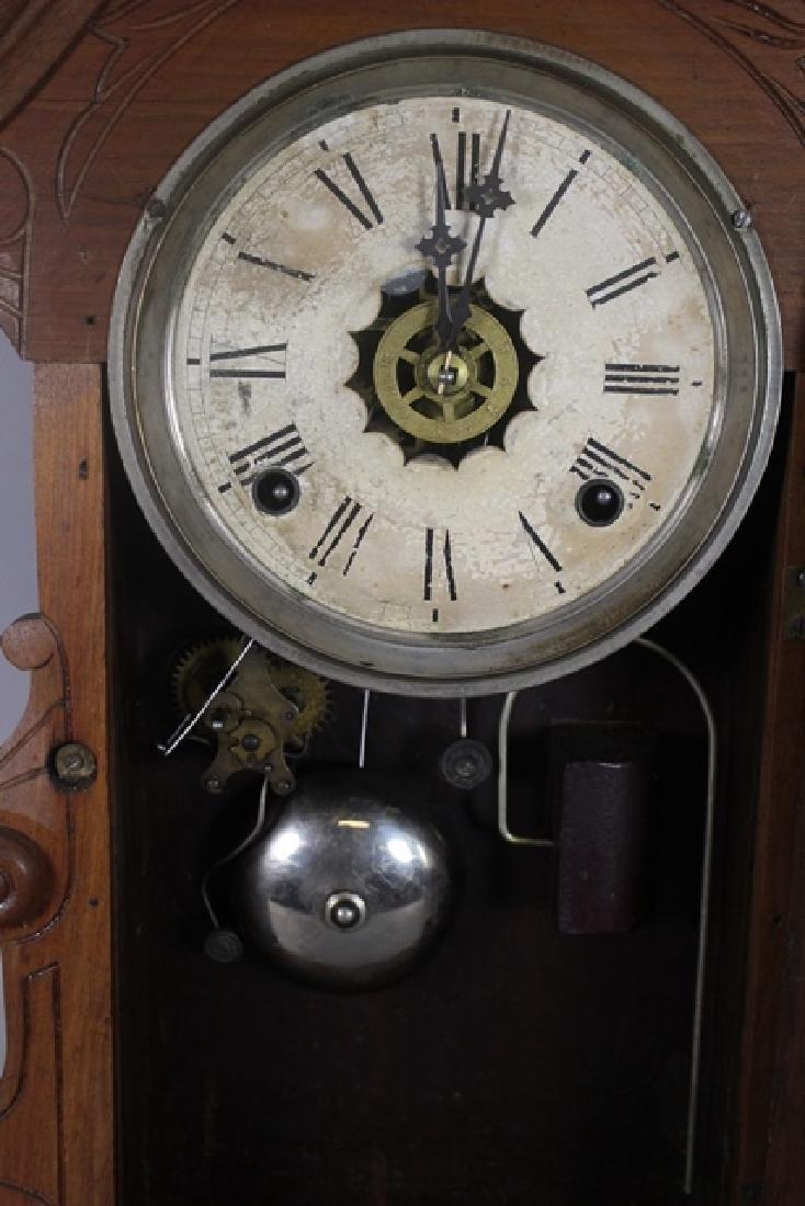 Two Cottage Kitchen Clocks - 7