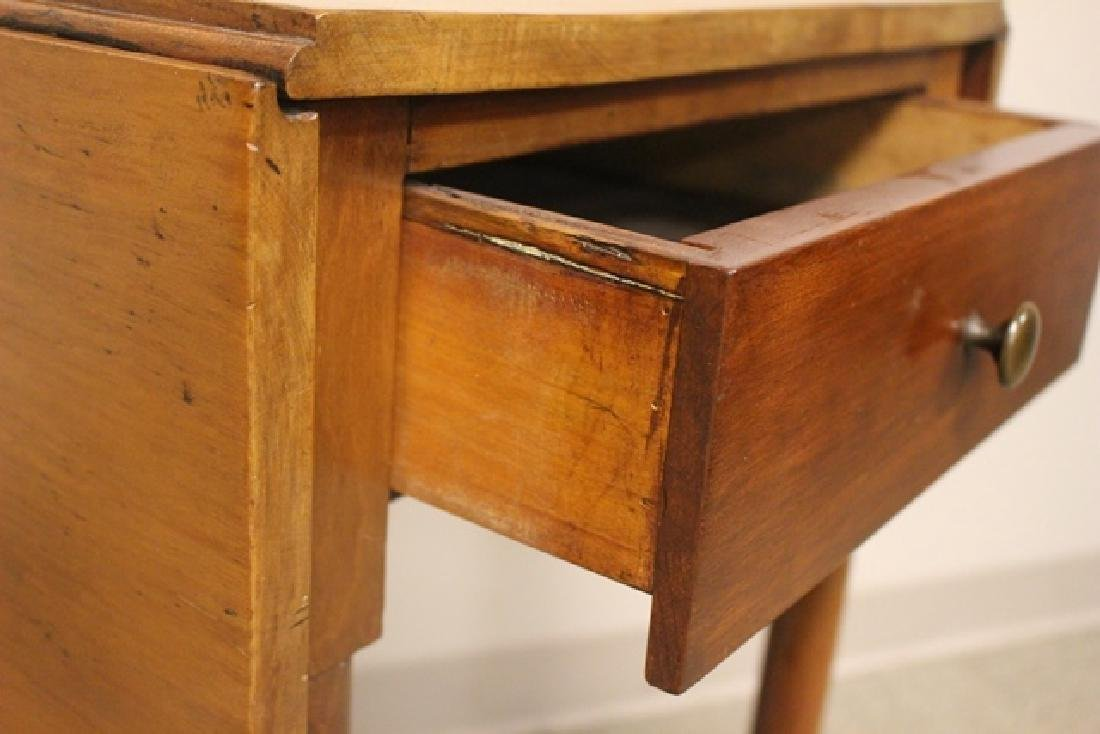 19th Century Cherry Drop Side Table - 6