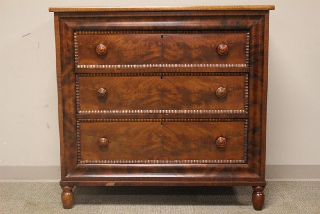 Mid 19th Crouched Mahogany Chest - 2