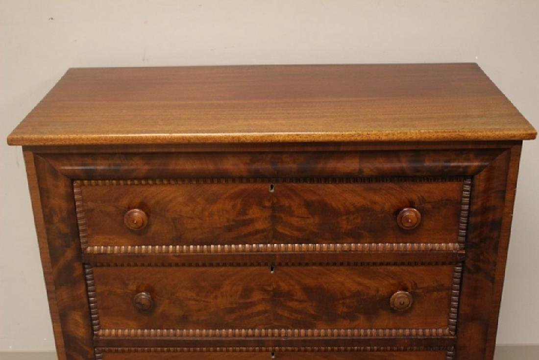 Mid 19th Crouched Mahogany Chest - 3