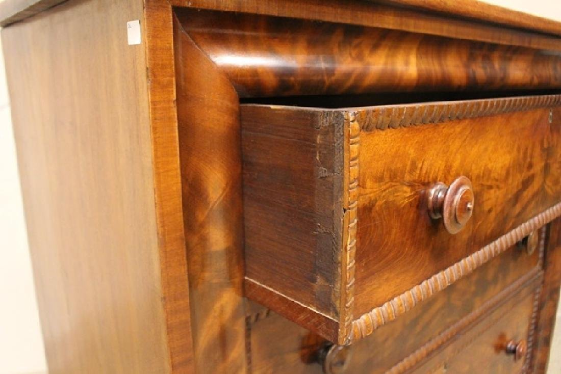 Mid 19th Crouched Mahogany Chest - 4