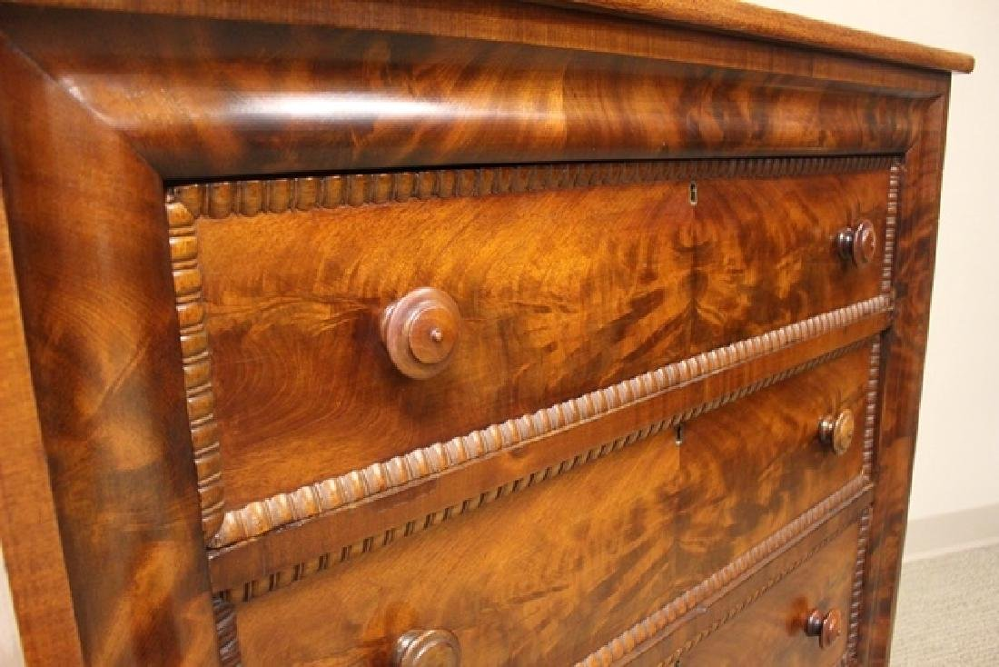 Mid 19th Crouched Mahogany Chest - 5