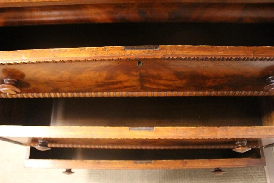 Mid 19th Crouched Mahogany Chest - 8
