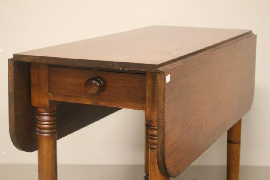 19th Century Cherry Drop Side Table - 2