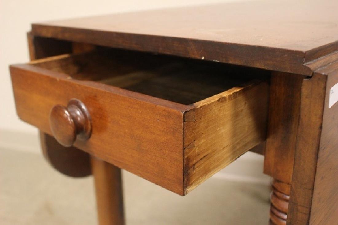 19th Century Cherry Drop Side Table - 3