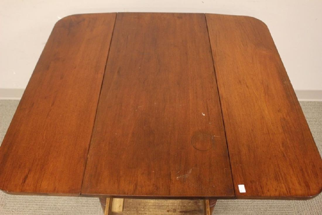 19th Century Cherry Drop Side Table - 5