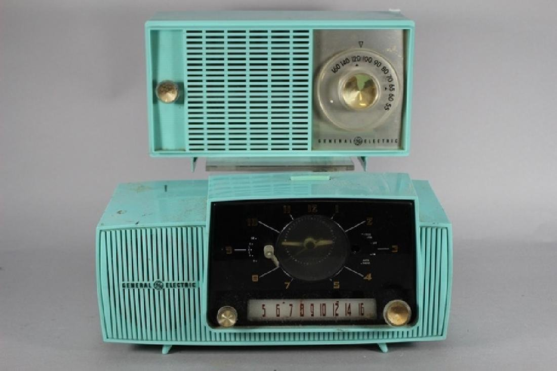 Two General Electric Clock Radio's