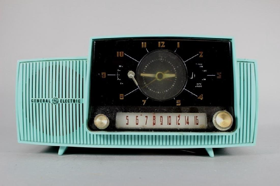 Two General Electric Clock Radio's - 5
