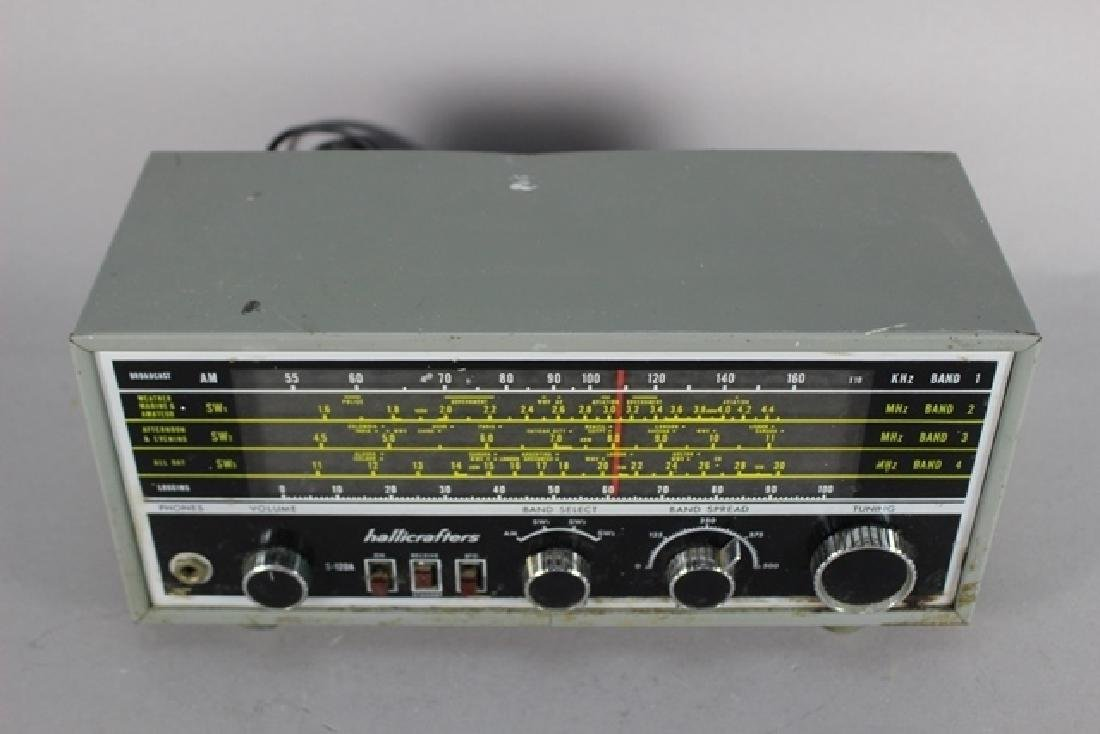 Hallicrafter S-120A and Regency Signal Booster DB-410 - 3