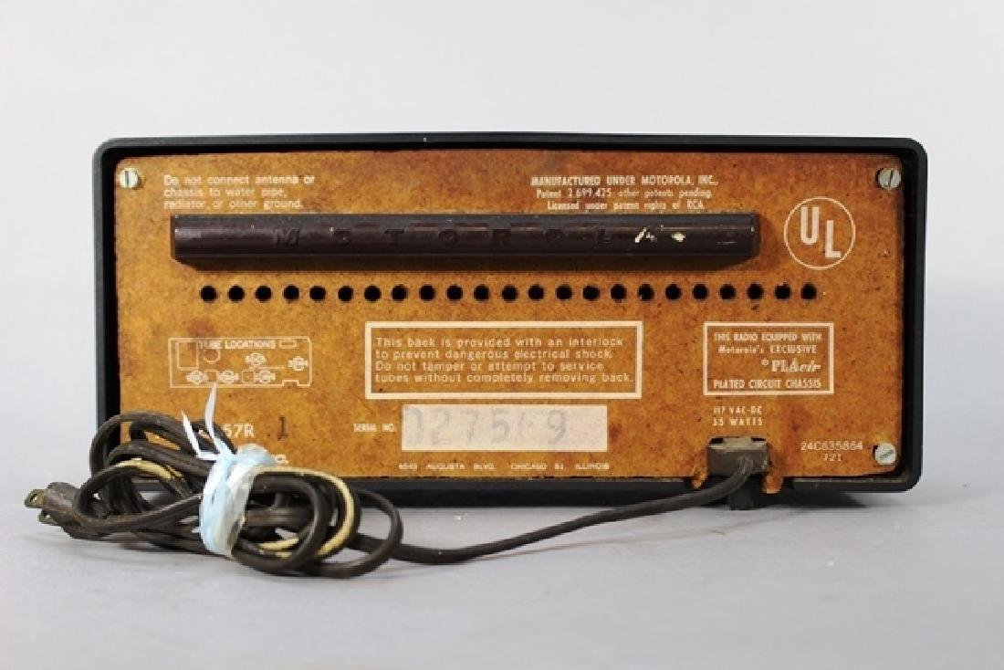 Emerson 560 and RCA Victor RC407 - 9