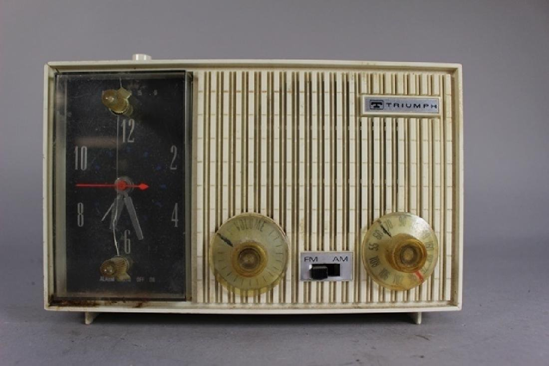 Collection of 3 20th C. Clock Radios - 2