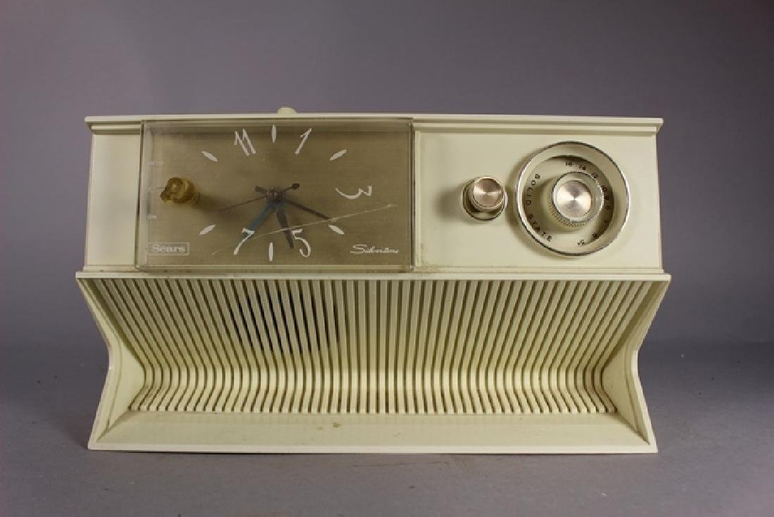Collection of 3 20th C. Clock Radios - 4