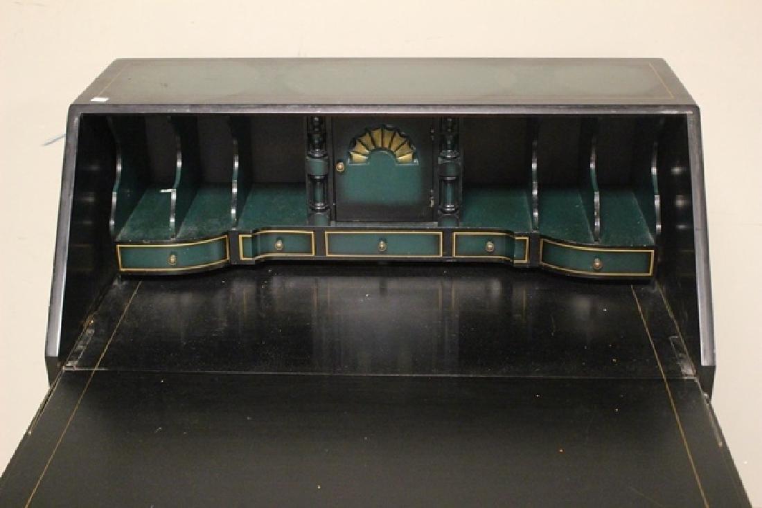 20th C. Oriental Influence Slant Front Desk - 5