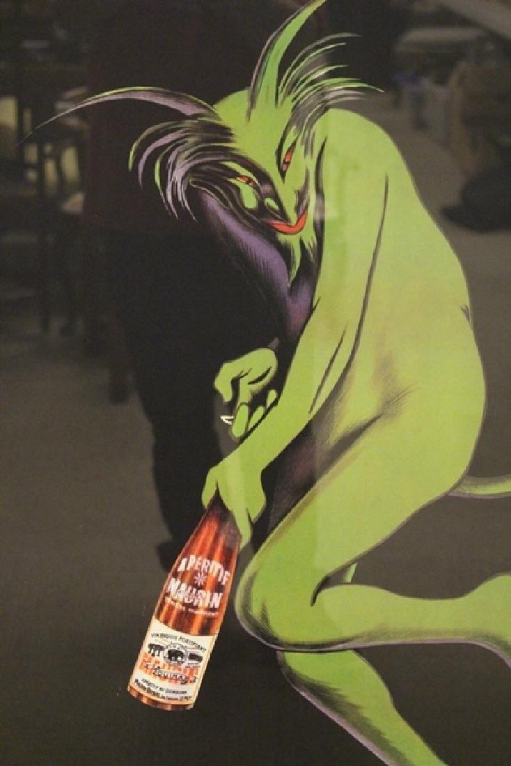 LEONETTO CAPPIELLO Maurin Quina Wine Advertising Poster - 3