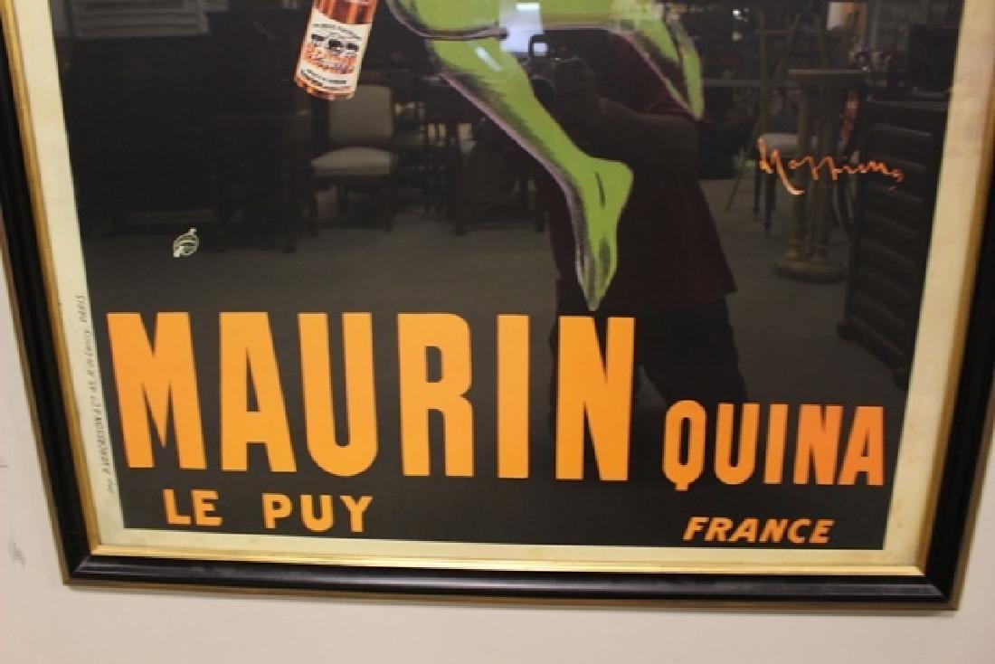 LEONETTO CAPPIELLO Maurin Quina Wine Advertising Poster - 7
