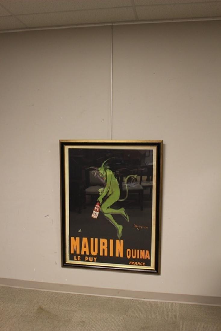 LEONETTO CAPPIELLO Maurin Quina Wine Advertising Poster - 8