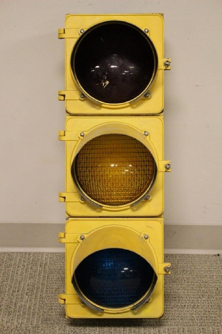 ca. 1960's Crouse-Hinds Traffic Stop Light