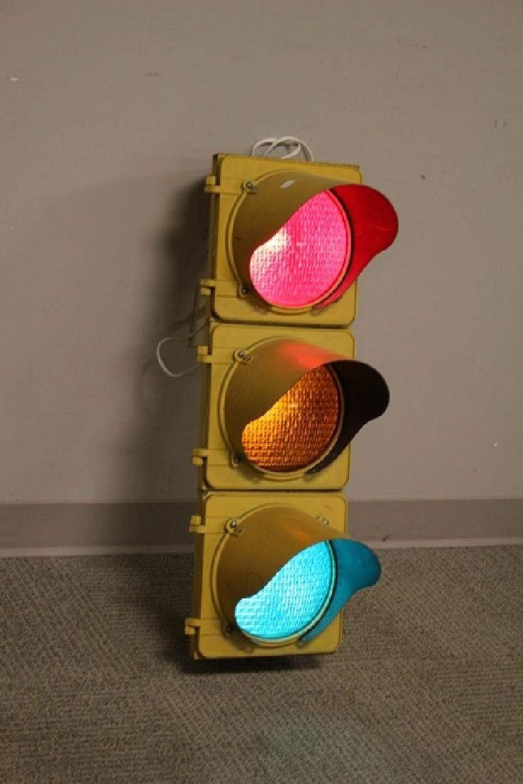 ca. 1960's Crouse-Hinds Traffic Stop Light - 6