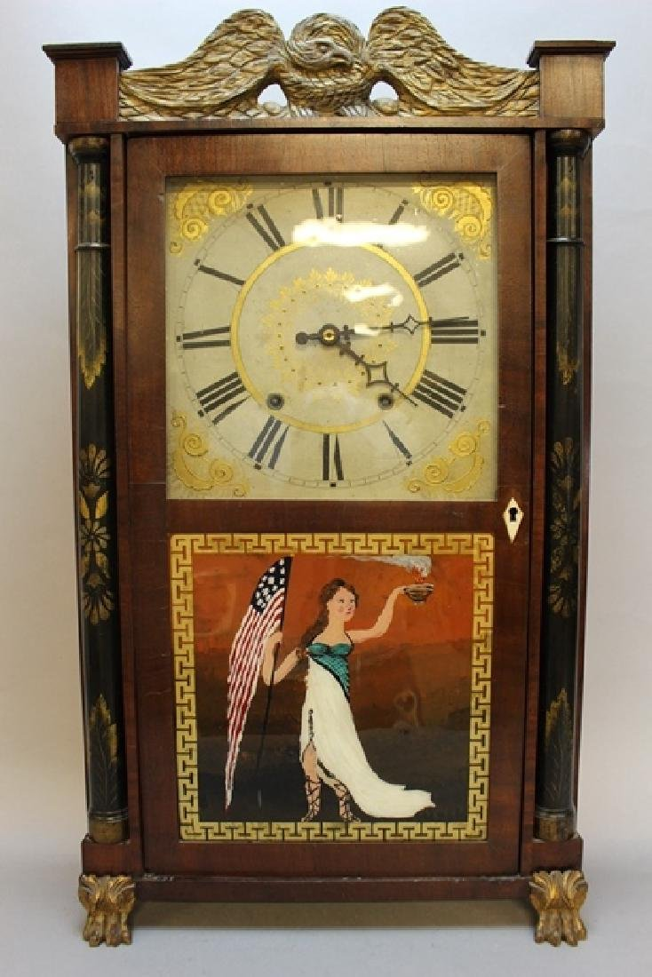 19th Century H. Hart & Son Shelf Clock