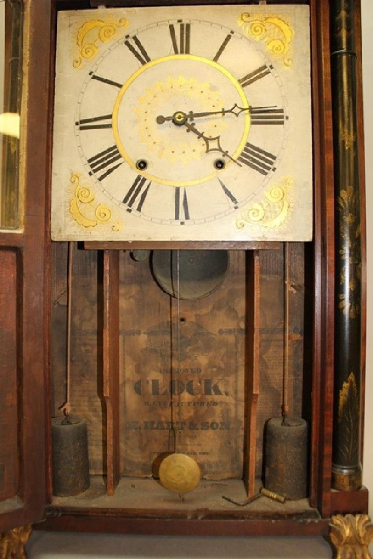 19th Century H. Hart & Son Shelf Clock - 3