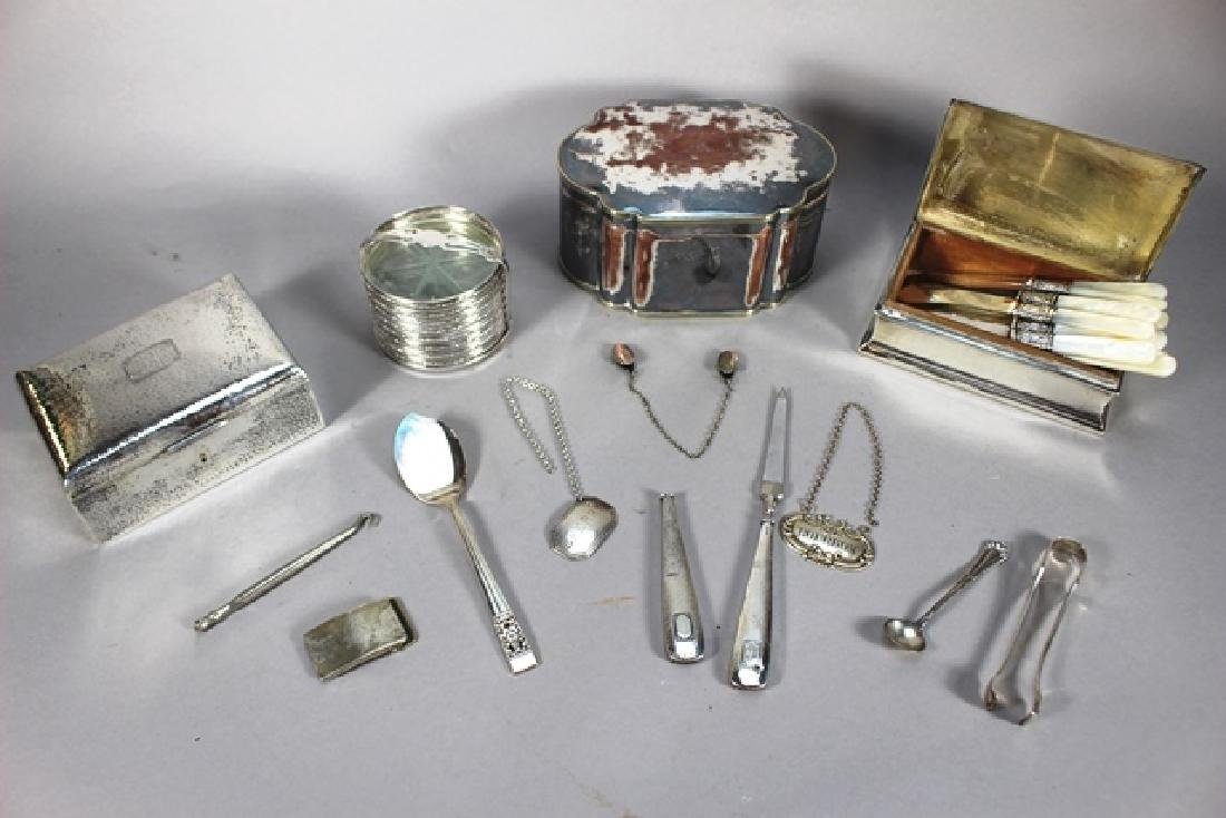 Large Group of Sterling Silver