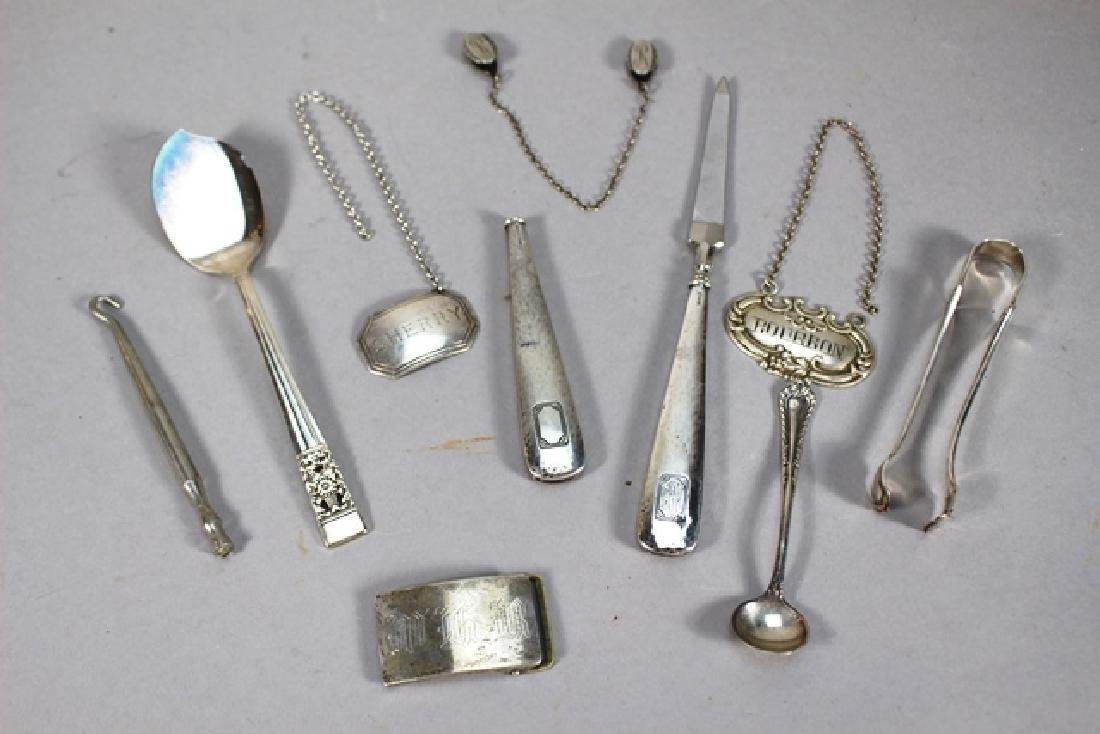 Large Group of Sterling Silver - 2