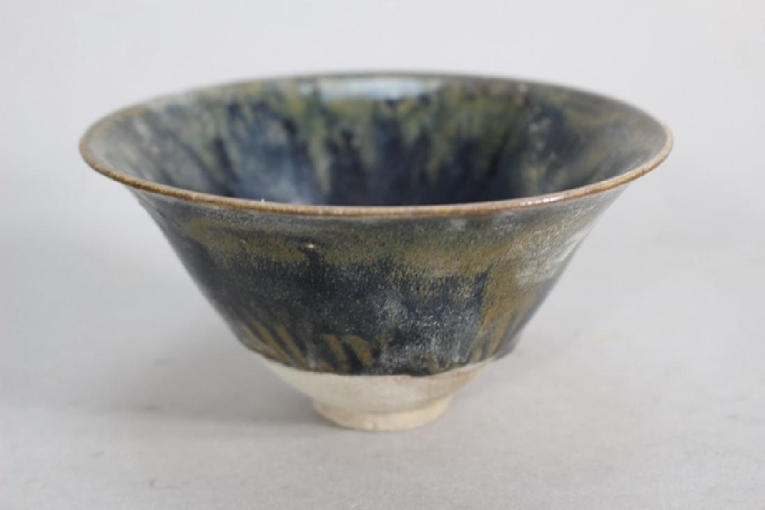 Glazed Over Porcelain  lain Bowl