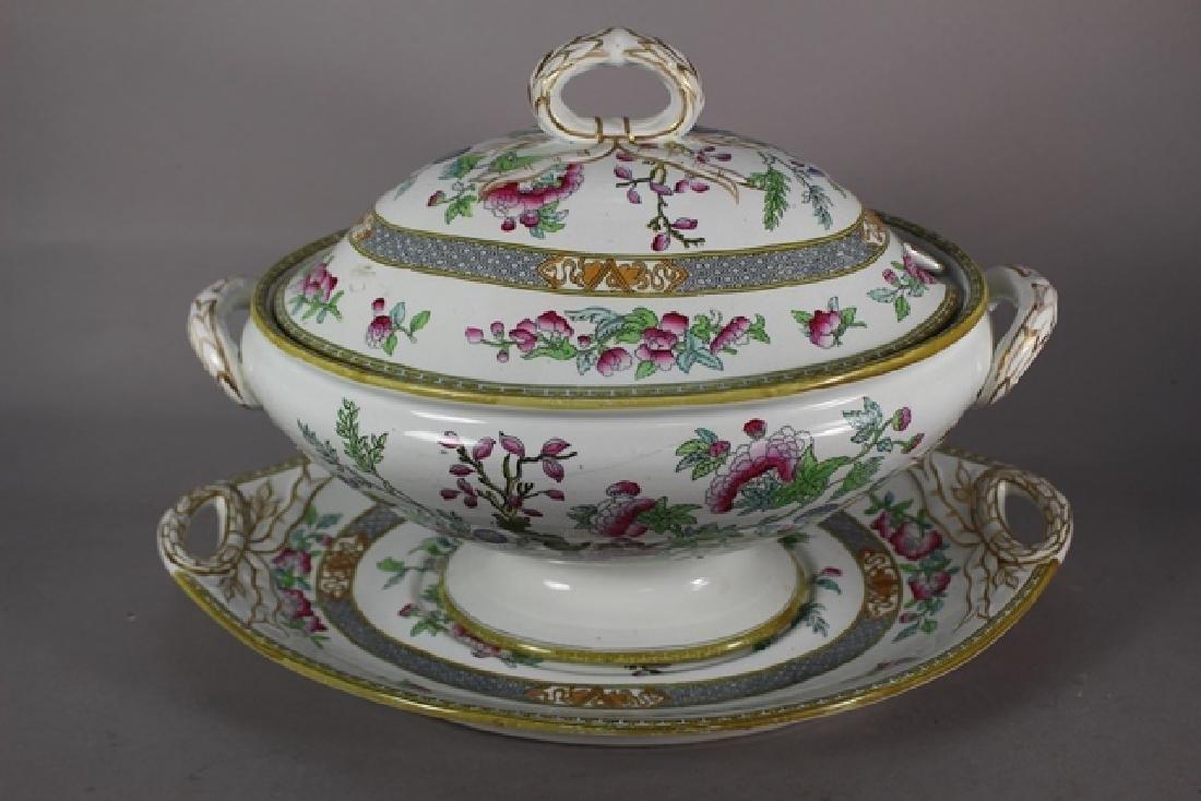 ca. 1860 WEDGWOOD Indian Tree Soup Tureen - 2
