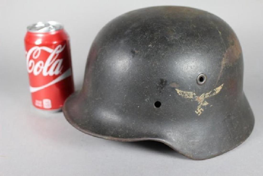 German WWII Helmet & Accessories - 2