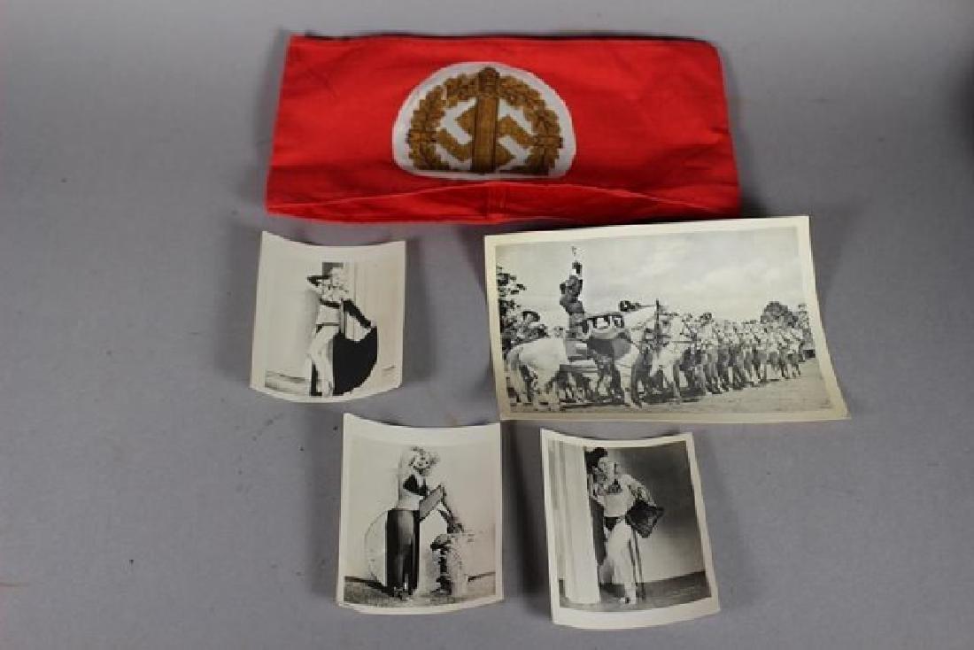 German WWII Helmet & Accessories - 6