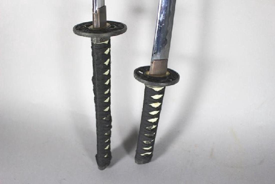 JAPANESE Samurai Swords on Stand - 6