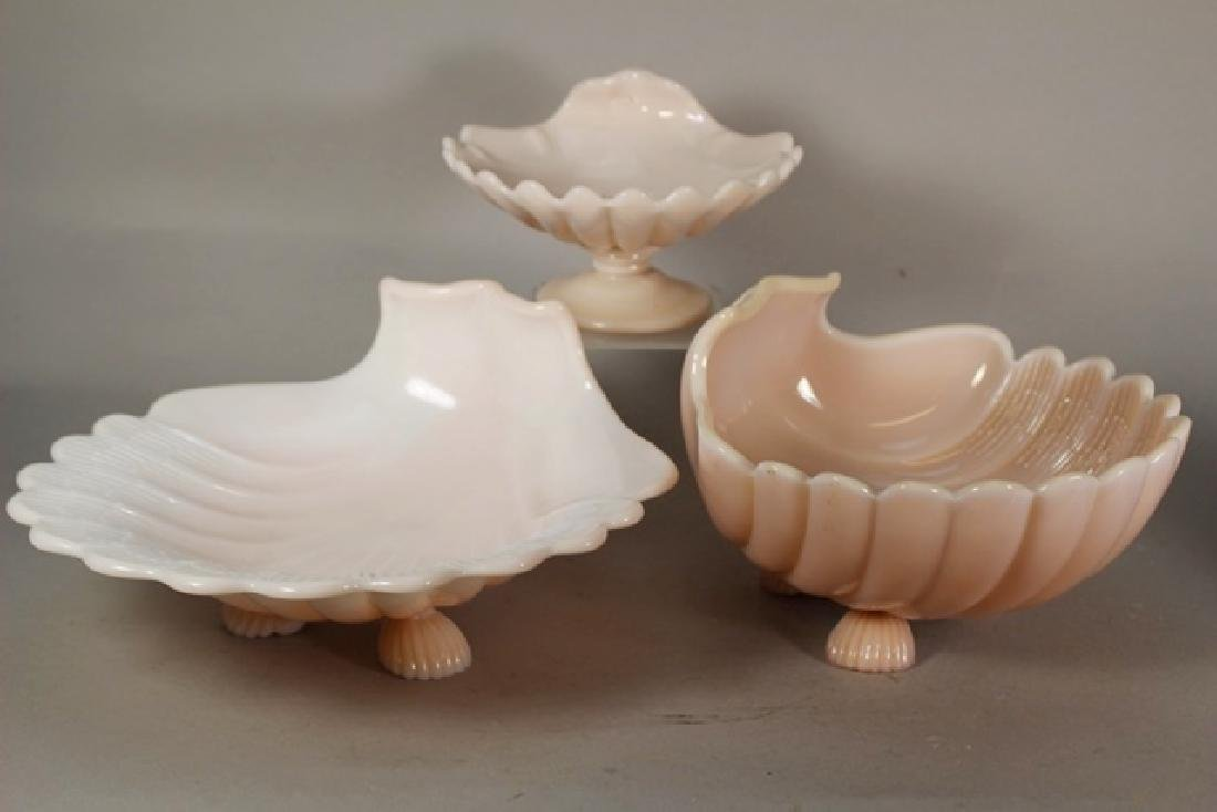 Cambridge Glass Crown Tuscan Candy Dishes