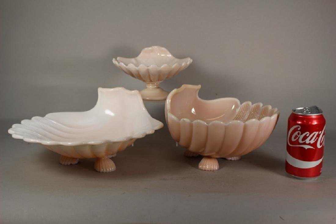 Cambridge Glass Crown Tuscan Candy Dishes - 2