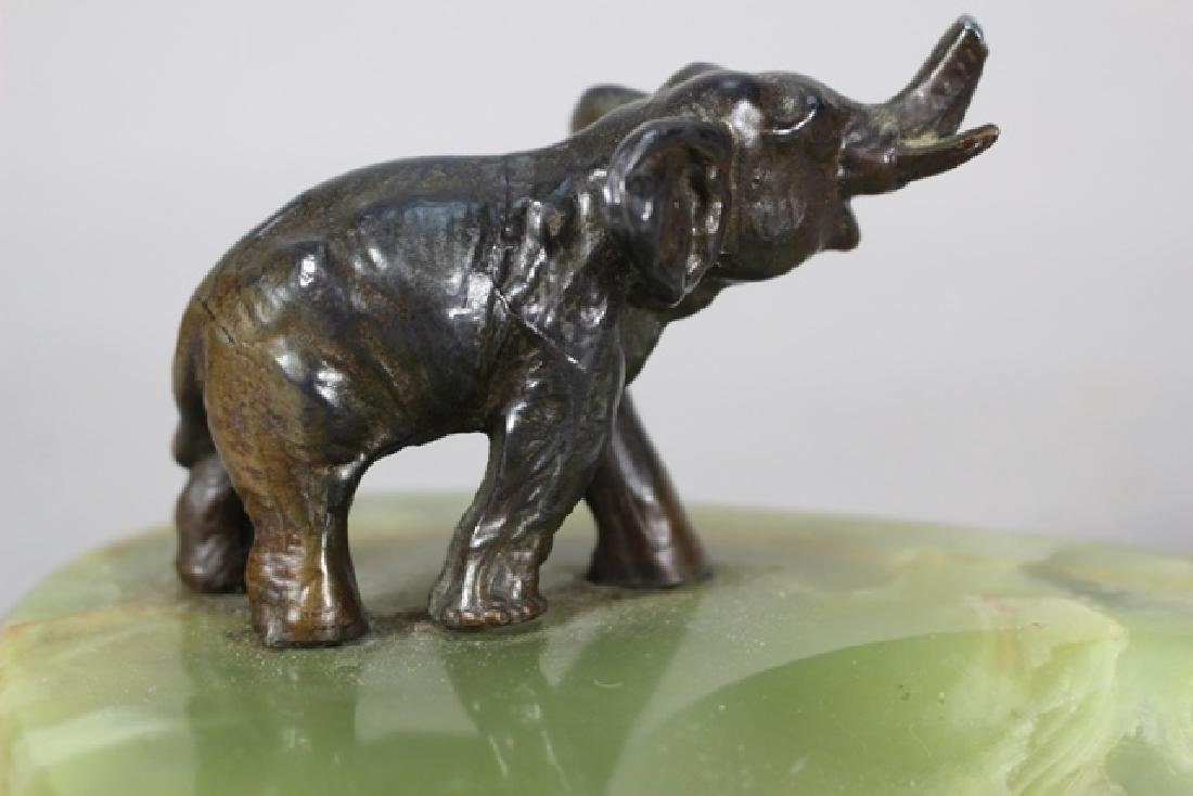 Bronze Elephant Desk Tray - 3