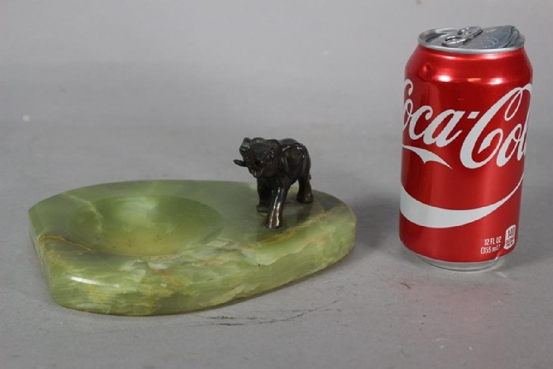 Bronze Elephant Desk Tray - 6