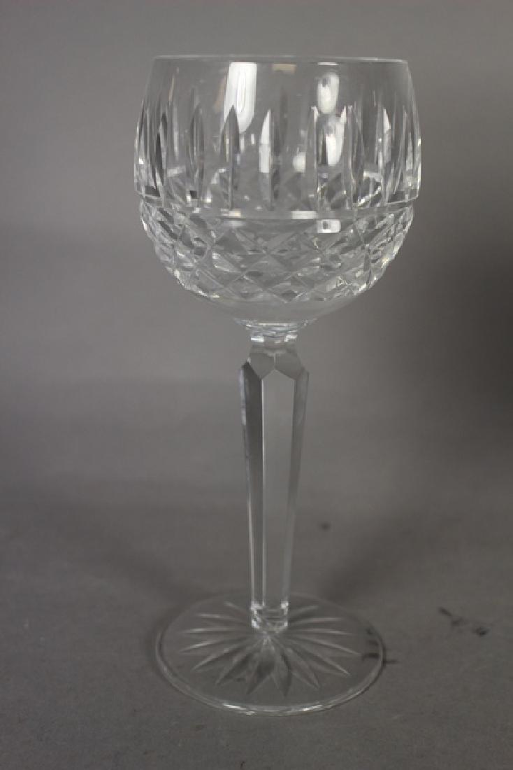 6 Waterford LISMORE Wine Stems - 2