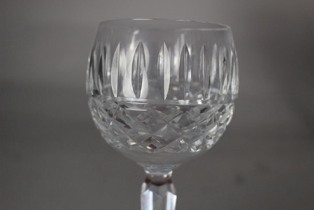 6 Waterford LISMORE Wine Stems - 3