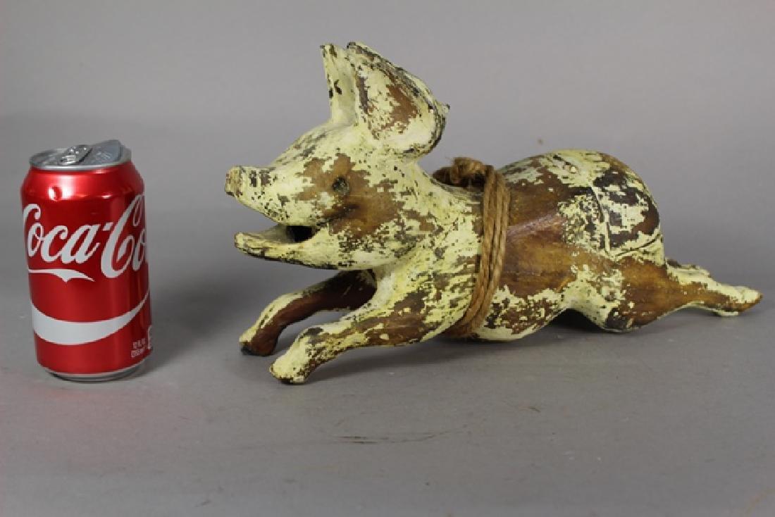 Christopher Blake Folk Art Pig - 3