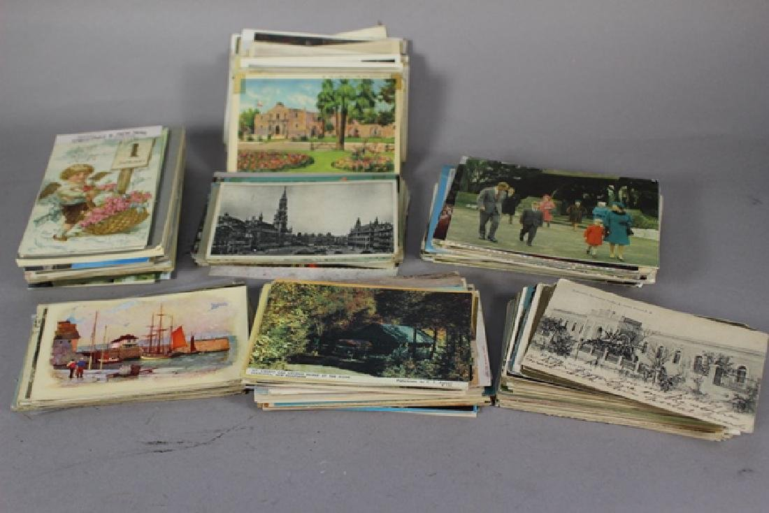 Collection of 200+ Postcards