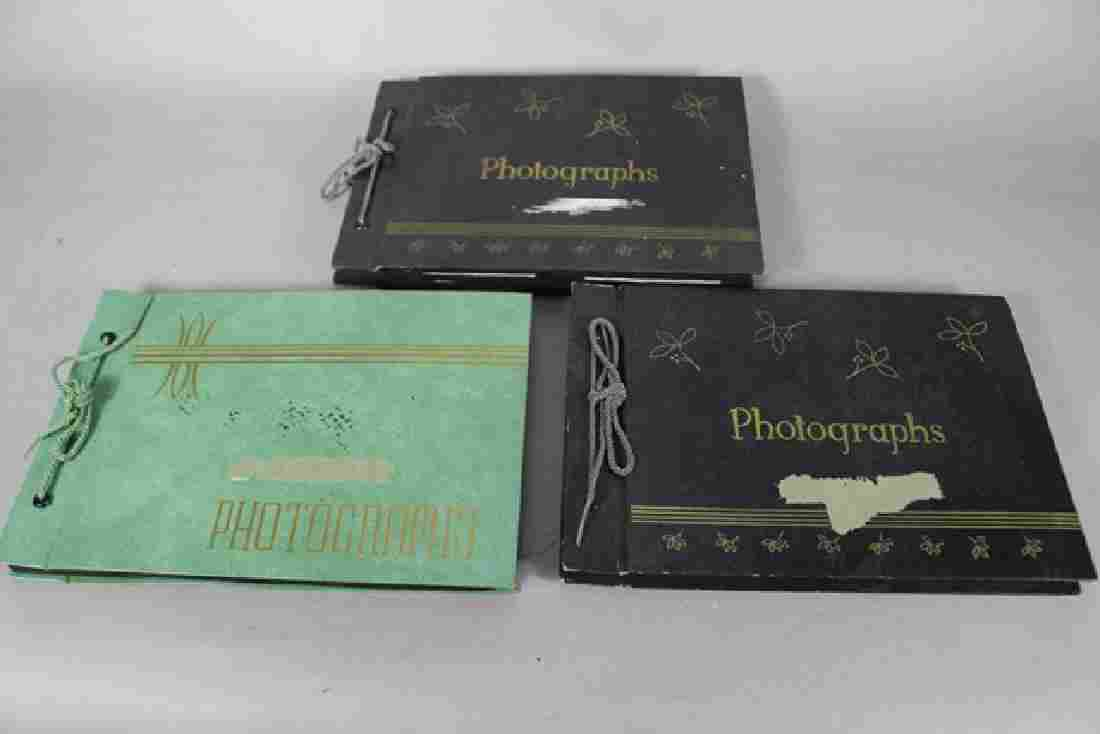 Three Photo Albums of First Day Covers