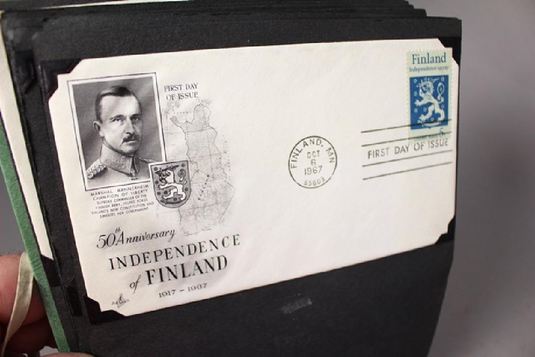 Three Photo Albums of First Day Covers - 2