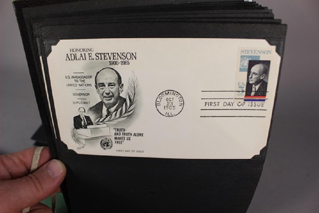 Three Photo Albums of First Day Covers - 4