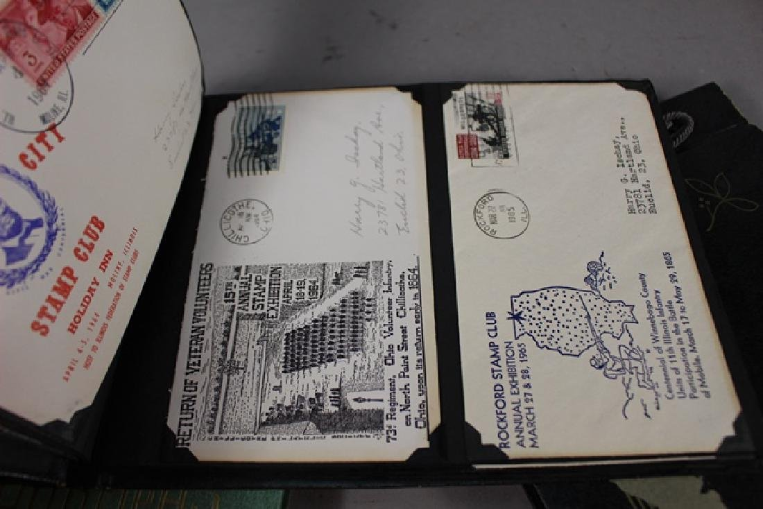 Three Photo Albums of First Day Covers - 5