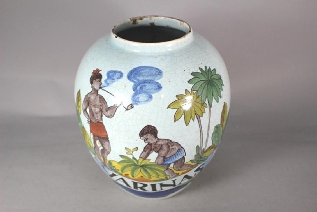 20th C. Bulbous Varinas Vase - 3