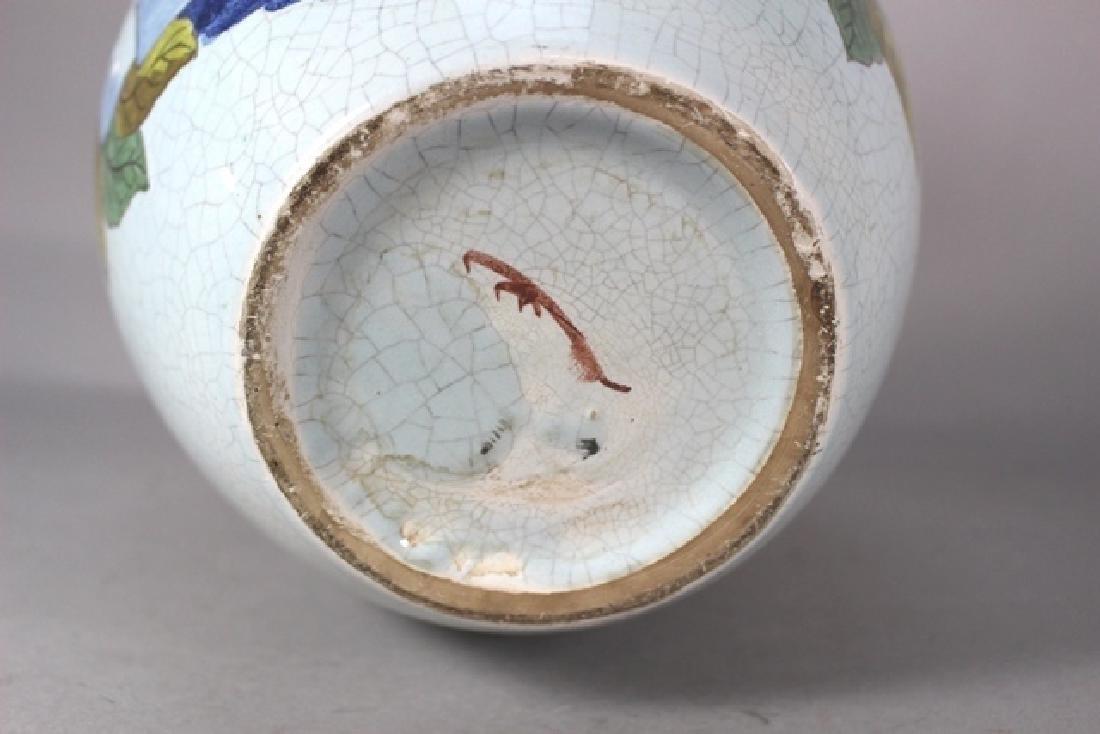20th C. Bulbous Varinas Vase - 5